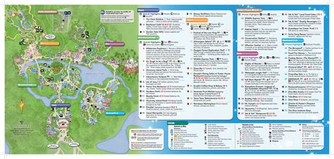 map of animal kingdom magic kingdom theme park walt disney world resort the knownledge