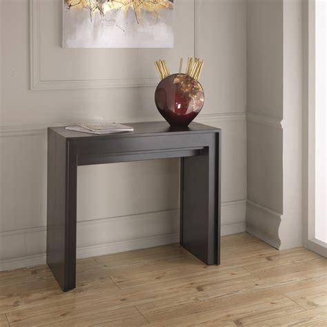 glass top esszimmertisch extendable console table dining table lie modern design