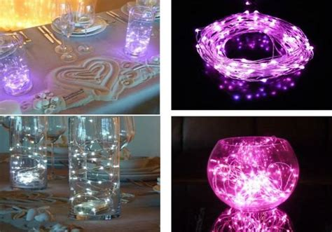led table lights for weddings lighted wedding centerpieces my wedding