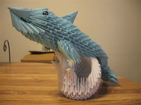 3d Origami Dolphin - 17 best images about made by my on