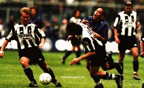 ronaldo juventus 1998 fritz the flood grandi partite della serie a juventus inter 1997 1998