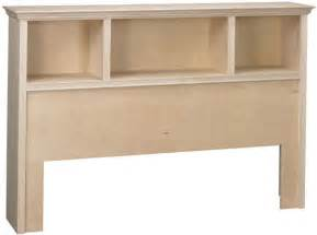 Real Wood Bookshelves by Roma Queen Bookcase Headboard Bare Woods Furniture