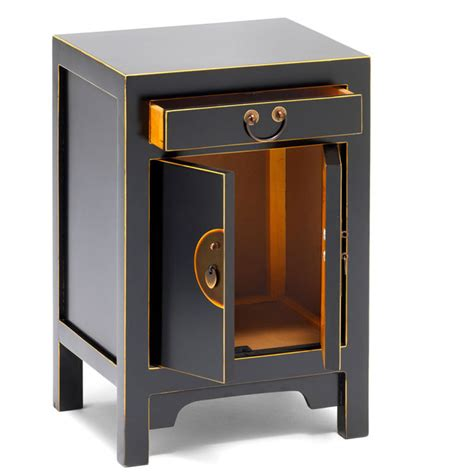 small black cabinet with doors black style storage cabinet bedside table
