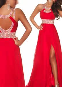 Where Can I Buy Beaded Curtains New Red Beaded Prom Dressformal From Ican518 On Ebay