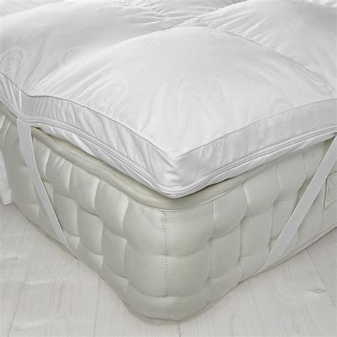 Mattress With Topper luxury memory foam mattress topper with microfibre