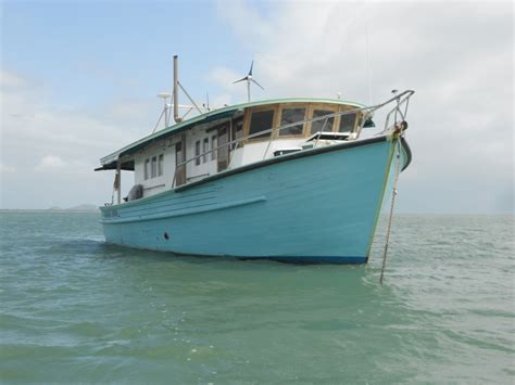 fishing boat for sale qld trawler for sale ex trawler for sale qld