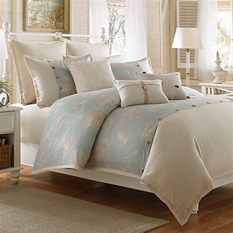 luxe bedding buy coastal life lux seashell duvet cover from bed bath