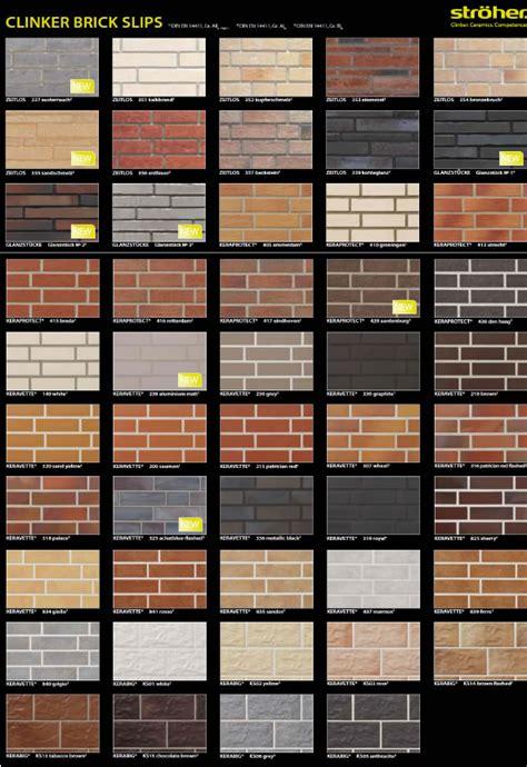 brick colors brochures ceramic solutions