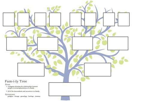 family tree templates free 235 best stamboom images on family trees