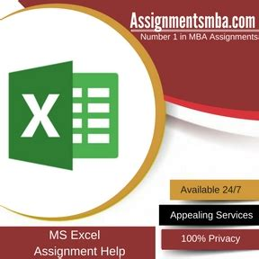 Does An Mba Help With An Ms by Ms Excel Mba Assignment Help Business Assignment