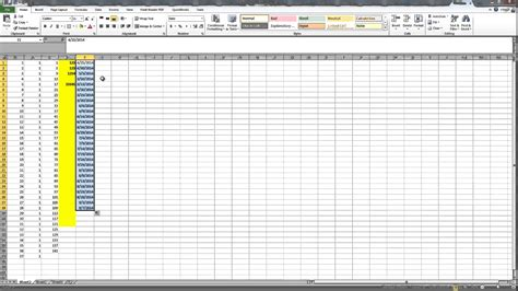 excel tutorial numbering how to generate sequence number in excel 2010 how to