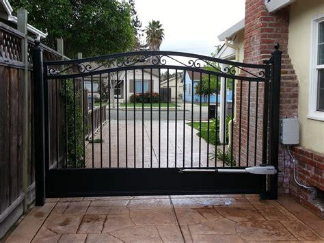 single swing driveway gate single swing gate with motor operation yelp