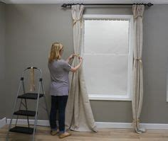 how to make curtains hang straight 1000 images about draperies on pinterest drapery panels