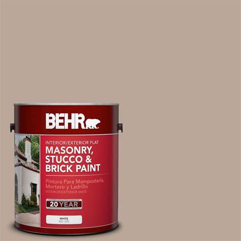 behr paint color mesa behr 1 gal ppu5 14 mesa taupe flat interior exterior