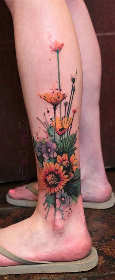 lower leg tattoos for females lower leg for 50 amazing calf tattoos and