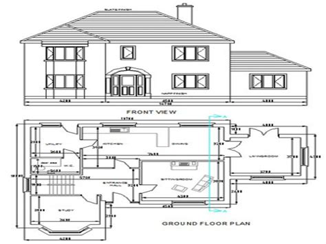 autocad floor plan kerala house plans autocad drawings