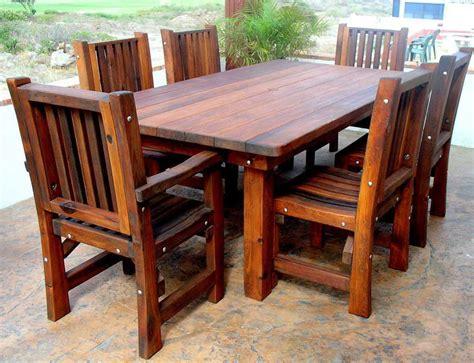 Kayu Untuk Buat Meja furniture meja kursi teras rumah terbaru yang awet