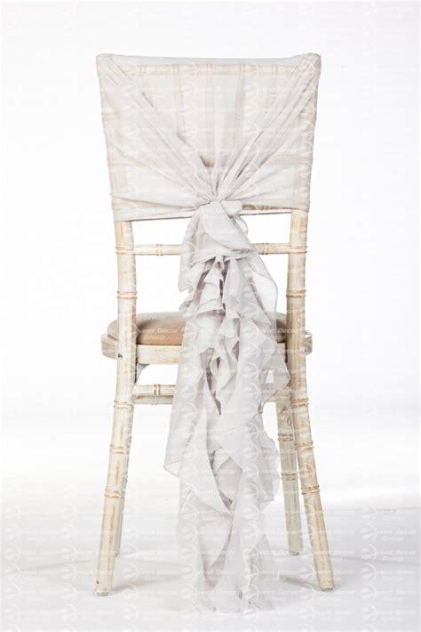 fancy wedding chairs silver chiffon fancy chiavari chair wedding ruffle