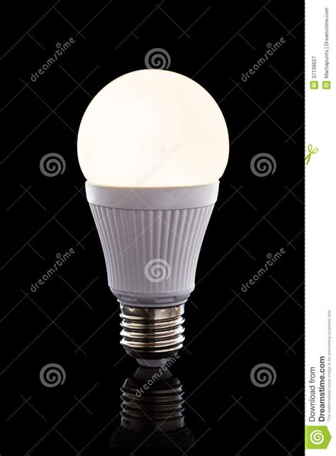 Led Black Light Bulb Bright Led Light Bulb Royalty Free Stock Photography Image 37138627