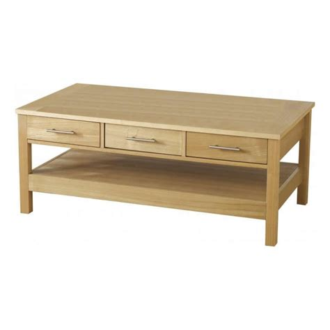 Coffee Table With Drawer Oakleigh 3 Drawer Coffee Table