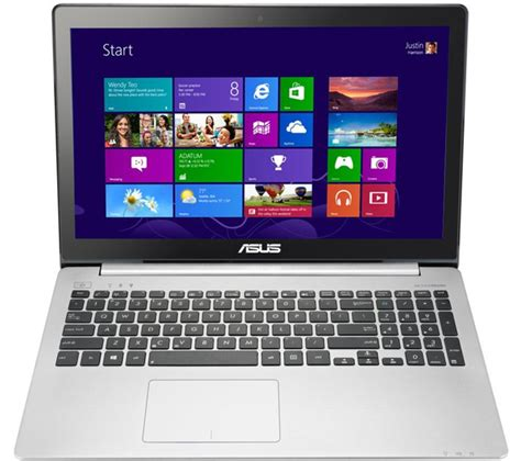 Asus Touchscreen Laptop Silver asus vivobook s551ln 15 6 quot touchscreen ultrabook 750gb hdd silver new ebay