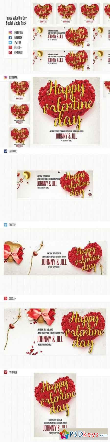 valentines day torrent s day social media pack 1106380 187 free