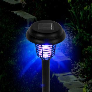 set of 3 pure garden solar bug zapper led and uv light