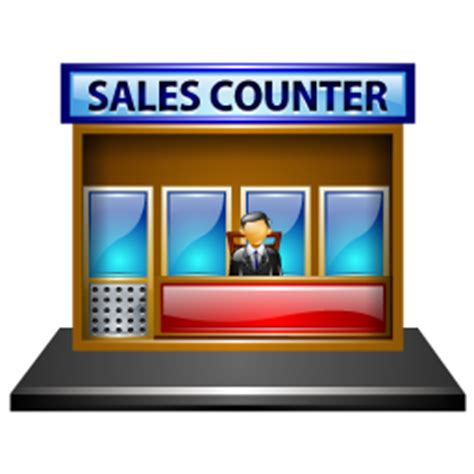 Counter Sales Sales Counter Icon