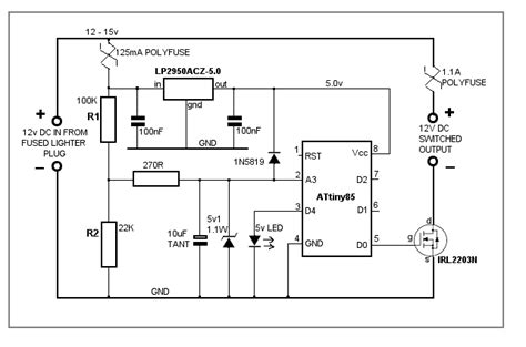 car battery voltage monitor