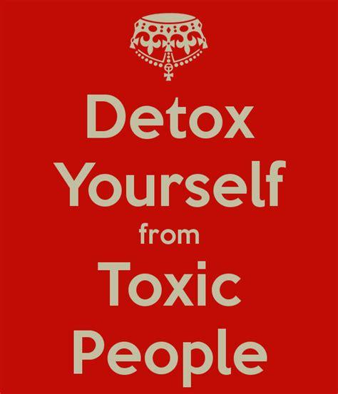 Detox Your Toxic Relationships Exercise by Toxic Detox Harp Column
