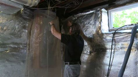 Basement Floor Sealing - sealing and insulating the rim joist youtube