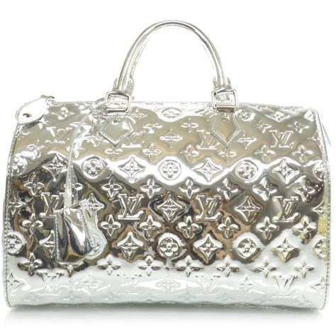 Visionaire Gets Wonkafied By Louis Vuittons Miroir by Louis Vuitton Monogram Miroir Mirror Speedy 30 Silver 24599
