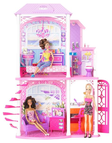 barbie doll beach house new preorder 2012 barbie doll 2 story beach house ebay