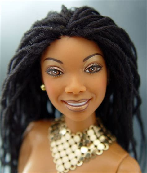 brandy norwood d soft dread hairstyles brandy doll with locks brandy doll s hair has been