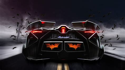 Car Back View Wallpaper by Wallpaper Lamborghini Egoista Luxury Cars Back View