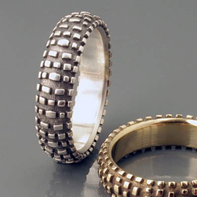 With These Rings We Do by 25 And Unique Wedding Rings For The Modern