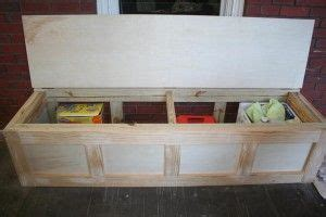 diy storage bench     built  benches