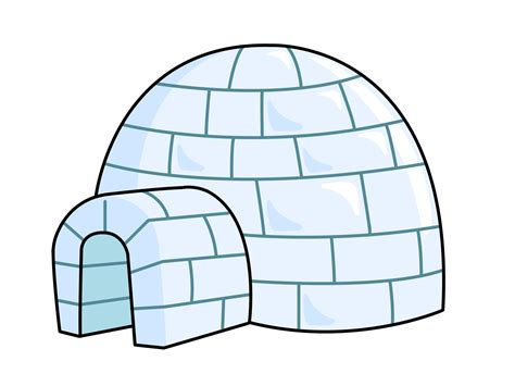 igloo house free to use public domain igloo clip art