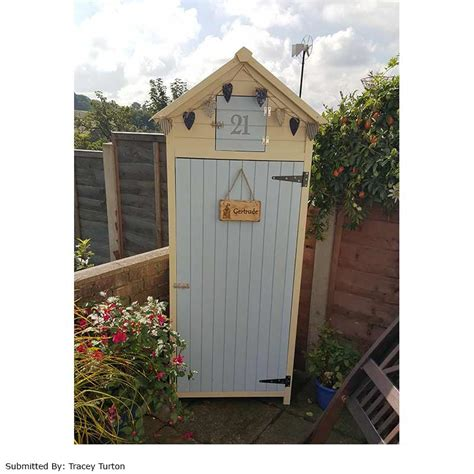 Sentry Shed by Greenfingers Sentry Apex Storage Cabinet On Sale Fast
