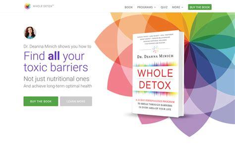 Deanna Minich Whole Detox by Branding Linberg Creative