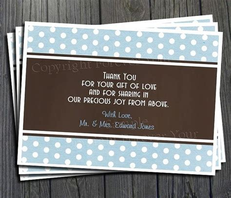 What Do You Write In A Baby Shower Book by Writing A Thank You Card For Baby Shower Gifts Writing