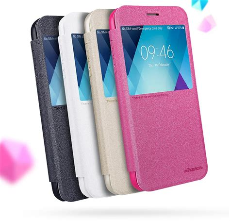 Imak Series Leather Look Back Samsung Galaxy A5 2016 A51 1 nillkin sparkle series view window leather flip cover for