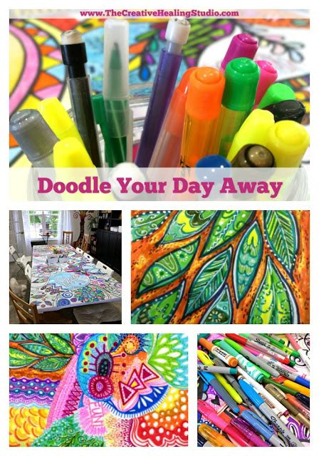 doodle your day the creative healing studio doodle your day away