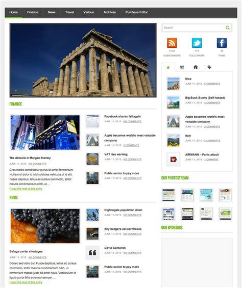 50 best wordpress magazine themes templates design