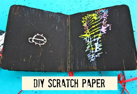 How To Make Scratch Paper - morena s corner