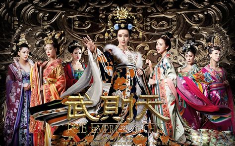 the empress of china 武媚娘传奇 c drama review