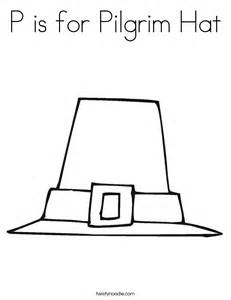 pilgrim hat cut out template p is for pilgrim hat coloring page twisty noodle