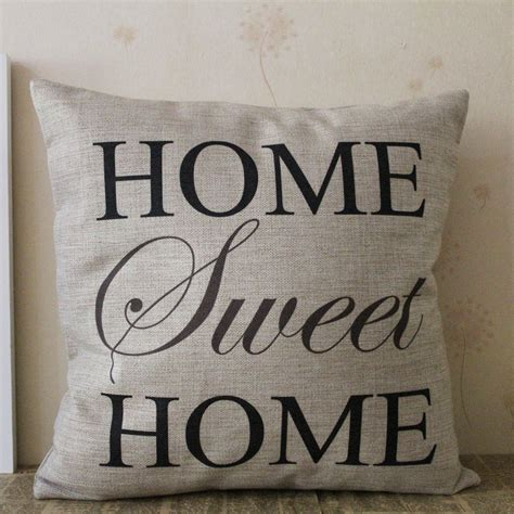 sweet home best pillow home sweet home pillow cover only 3 88 free shipping