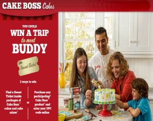 Cake Boss Sweepstakes - cake boss sweet ticket sweepstakes iwg win a trip to new jersey more