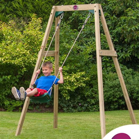 kids single swing new 2 piece single swing set ebay